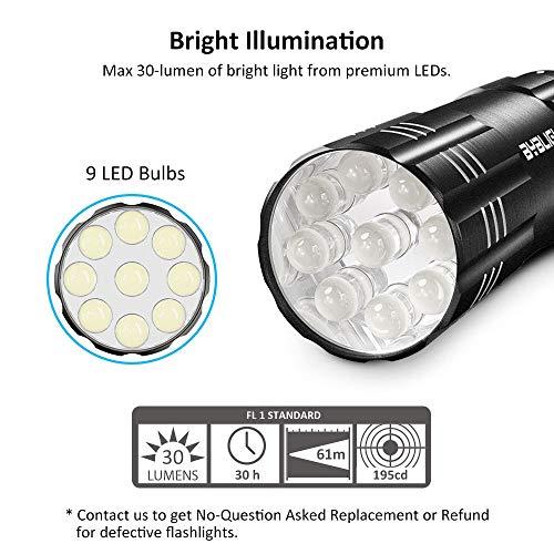 BYB LED Mini Flashlights with Lanyards