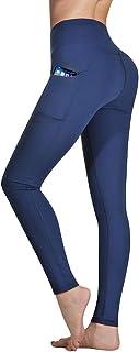 comprar comparacion Occffy Cintura Alta Pantalón Deportivo de Mujer Leggings Mallas para Running Training Fitness Estiramiento Yoga y Pilates ...