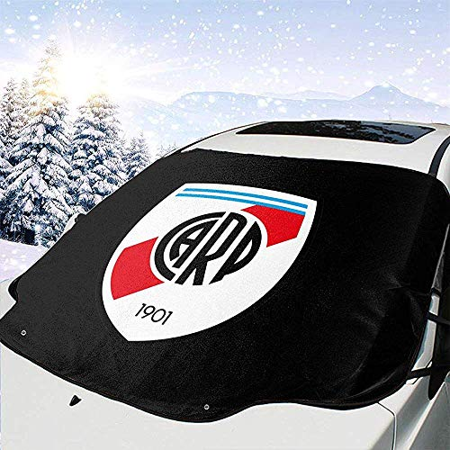 Car Windshield Snow Cover Sun Shade Protector Visor Front Windshield Cover Block Shields Car Window Cover Keeps Uv & Ice & Snow Off River Plate Fc