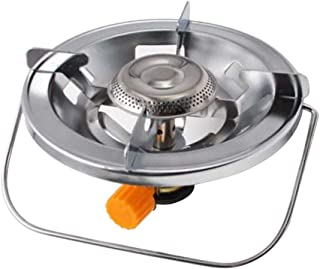 Biowlucn Portable Folding Mini Camping Stove Gas Stove Fold-able Burners for Outdoor