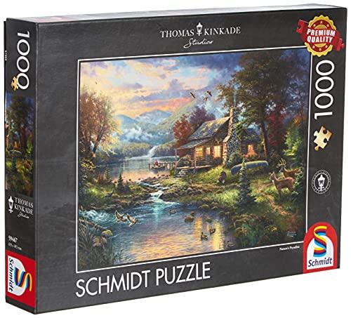Schmidt - Thomas Kinkade Puzzle, Tematica: nel Paradiso Naturale, 1000 Pezzi