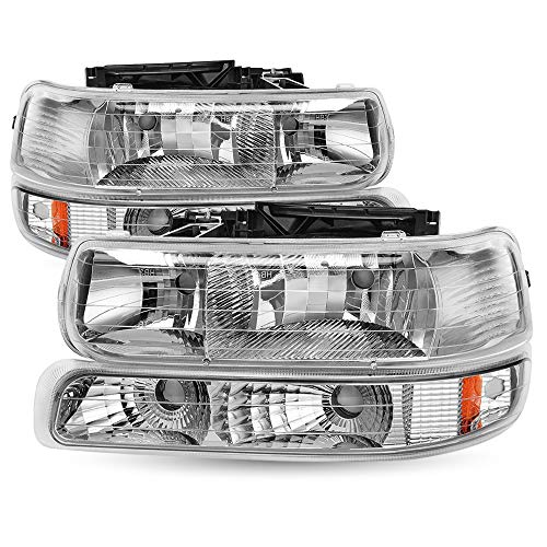 02 chevy silverado headlights - 5