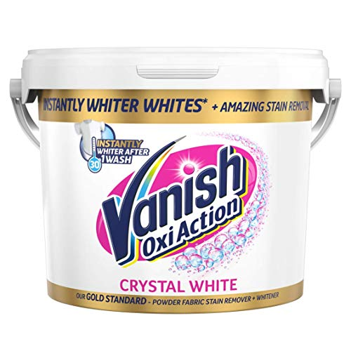 Vanish, Gold Oxi Action Crystal White, Smacchiatore in polvere per tessuti