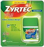 Zyrtec Bonus Pack, 40-Count by Zyrtec