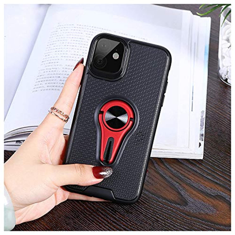 代替案人事魚iPhone ケース レディース メンズ リングスタンド 磁気 車用 携帯ケース iPhone11、iPhone11 Pro、iPhone11 Pro MAX (iphone11 Pro Max ケース)