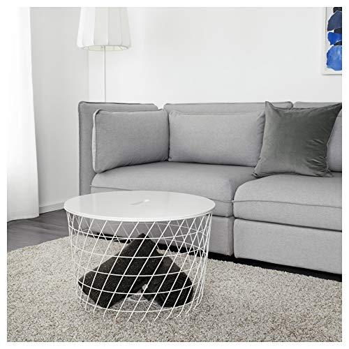 IKEA 503.222.39 Kvistbro - Mesa de Almacenamiento, Color Blanco