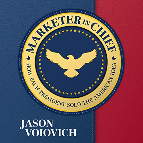 Marketer in Chief Audiobook By Jason Voiovich cover art