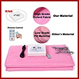 AltraTech Sauna Blanket New Upgraded Version Infrared Sauna with Overheating Protection Infrared Sauna Blanket/Silver/Red/Pink (Pink)