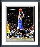 NBA Foto de acción enmarcada de Stephen Curry Golden State Warriors 2014-2015