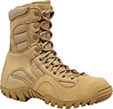 TACTICAL RESEARCH TR Men's KHYBER II TR350 Hot Weather Lightweight Mountain Hybrid Boot, Tan - 4 R