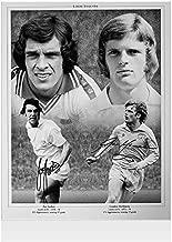 Joe Jordan & Gordon McQueen Signed Leeds United Photo Autograph - Autographed Soccer Photos