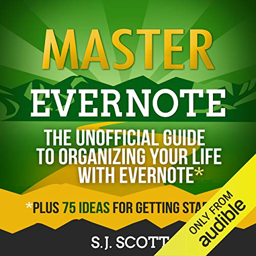 Master Evernote Audiobook By S.J. Scott cover art