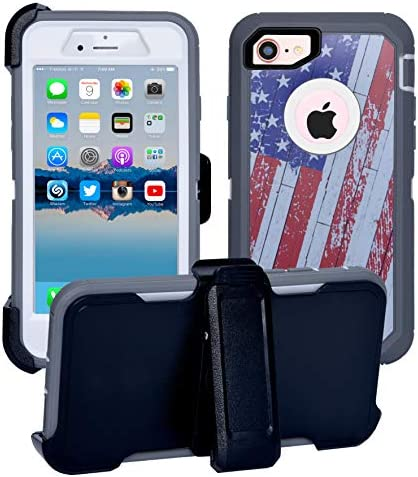 AlphaCell Cover Compatible with iPhone SE 2020 2nd gen 8 7 NOT Plus 2 in 1 Screen Protector product image