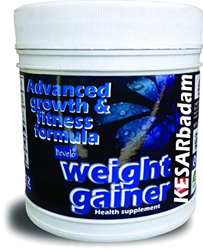 Develo weight gainer Protein supplement for Men Powder – 500 g (Kesar Badam)