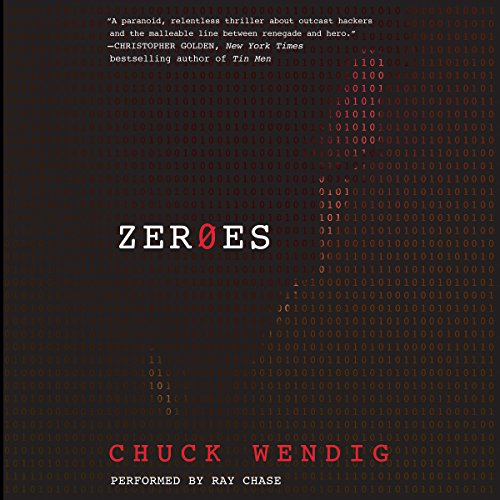 Zeroes audiobook cover art