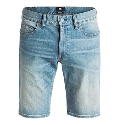 DC Shoes Washed Straight - Denim Shorts - Short - Homme - 30 - Bleu