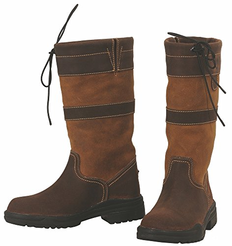 TuffRider Low Country Waterproof Boot, Choc/Fawn, 8 LD