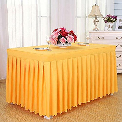 Tischdecken Konferenz Tischdecke Kaltes Speisetisch Rock Rock Sign In Schreibtisch Rock Ausstellung Aktivitäten Tischdecke Weiß Tischdecke Tisch Sets Tischtuch (Farbe : G, größe : 8#)
