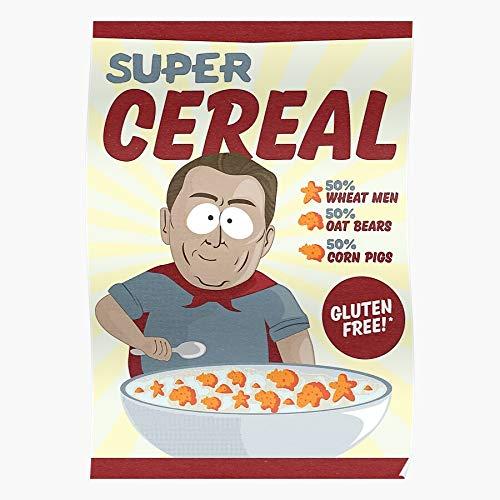 fashionAAA Man Al South Park Pig Cereal Gore Southpark Bear Manbearpig Super Das eindrucksvollste und stilvollste Poster für Innendekoration, das derzeit erhältlich ist