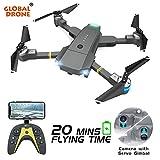 RONSHIN Lagopus XT-1 Plus 20 Minuti Durata Volo 5MP FPV WiFi 1080P Droni con videocamera HD Quadcopter Mini Drone Pieghevole Drone Dropship