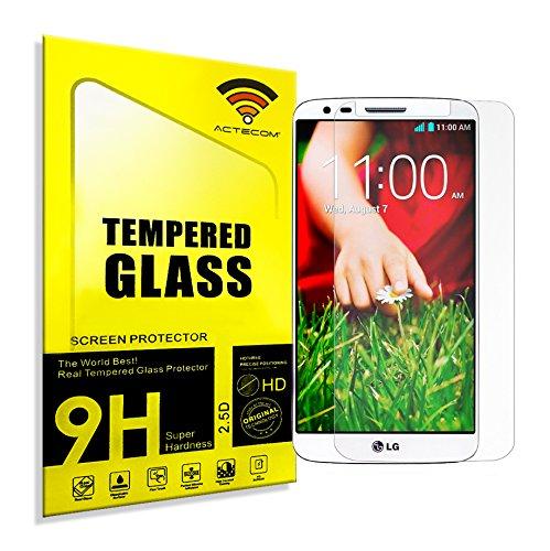 cogac Cristal Templado Protector Compatible con LG G2 0.2mm