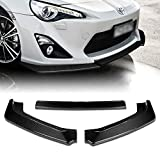 Q1-TECH, Front Bumper Lip fit for compatible with 2013-2016 Scion FR-S/Toyota 86 / FT86 / GT86, Front Bumper Lip Spoiler Air Chin Body Kit Splitter Real Carbon Fiber, 2014 2015 (CS-Style)