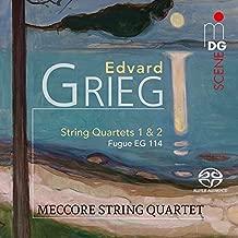 Edvard Grieg: String Quartets 1 & 2