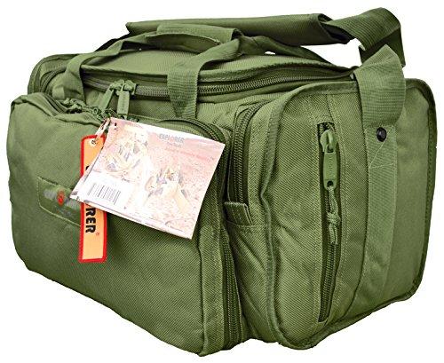 Explorer Range Bag Handguns Tactical Gear Shooting Gun Padded Pistol Case Ammo Black