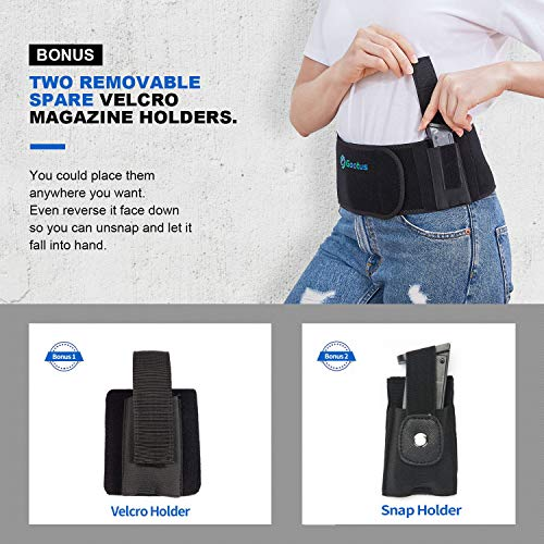 6. Gootus - Belly Band Holster for Concealed Carry - Breathable Neoprene Waist Holster