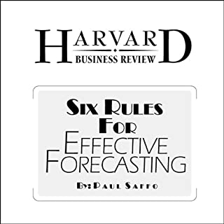 Six Rules for Effective Forecasting (Harvard Business Review) cover art