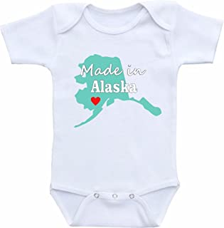 made in alaska onesie