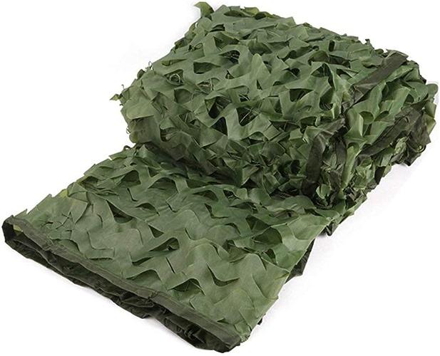 Auvent de terrasse Le filet de camouflage vert armée est utilisé pour cacher le parasol tirant une voiture de prougeection de camping en plein air dans les bois, multi-taille Filet de camouflage filet d