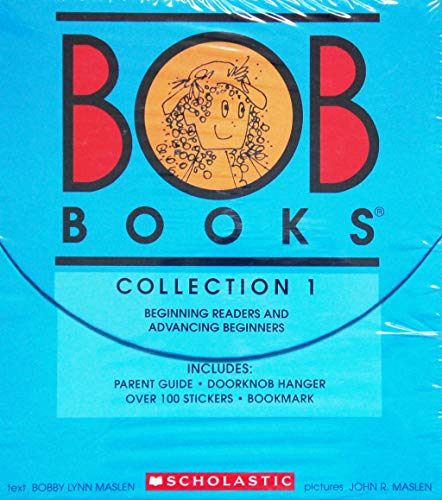 scholastic book sets Bob Books, Collection 1: Beginning Readers and Advancing Beginners