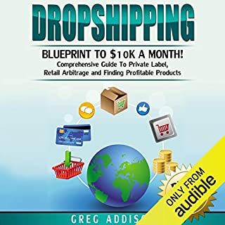 Dropshipping: Blueprint to $10K a Month audiobook cover art