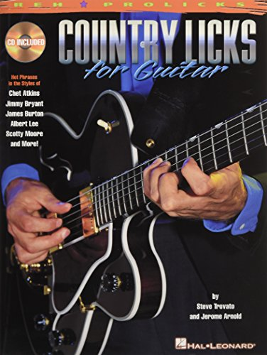 Reh Prolicks Country Licks For Guitar Bk/Cd: Noten, CD für Gitarre (GUITARE)