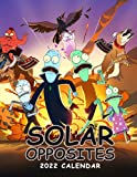 Solar Opposites 2022 Calendar: Calendar 2021–2022,18 Monthly Calendar Planner July 2021 - dec 2022