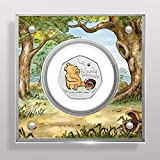 Winnie the Pooh 50p Royal Mint Coin BU Coloured Decal Display - PRE ORDER