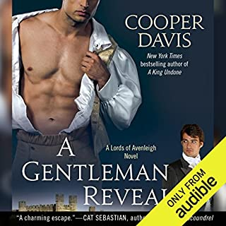 A Gentleman Revealed audiobook cover art