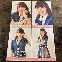 AKB48 福袋当選品 復刻版 2017年 9月 September 月別生写真 共通ポーズ ① 4種コンプ 下口ひなな