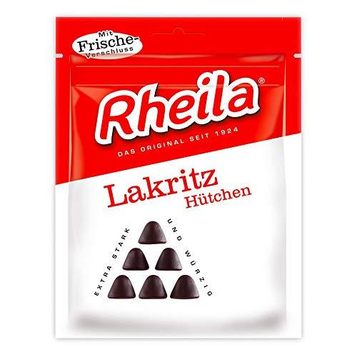 RHEILA Lakritz Hütchen Gummidrops mit Zucke 90 g