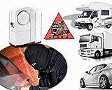 Mini-alarma para coche sin hilos 100dB - Función antirrobo y antiladrones