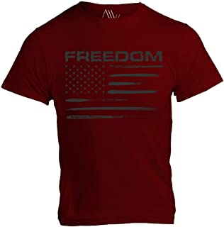 Freedom Flag (US Flag) Mens T-Shirt - American Warrior Collection