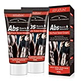 Hot Cream for Belly Fat Burner, Fat Burning Cream for Belly, Slimming Cream Anti-Cellulite, Sweet Sweat Cream Fat Burner for Tummy Weight Loss, Abdominal Muscle Cream for Men and Women