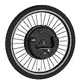ZOOMLOFT 36V 350W IMortor Wheel MTB Road Bike Front Motor Wheel,con USB App Kit De Conversión De Bicicleta Eléctrica E Bike Kit Bicicleta Eléctrica,V Wire Control,26 in