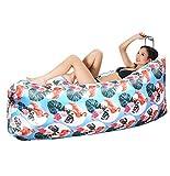 SHENHAI Luftkissen im Freien Sofa aufblasbares Sofa aufblasbares Kissen Park Luftmatratze Matratze Luftbett Flamingo