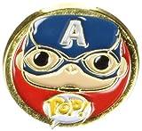 Funko - Pins Marvel - Civil War - Captain America Pop 3cm - 0849803085117...