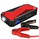 DBPOWER 600A 18000mAh Portable Car Jump Starter (up to 6.5L Gas, 5.2L...