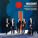 モーツァルト: 弦楽五重奏曲第3、4番