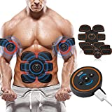 ROKOO Abs Stimulator Muscle Trainer Ultimate Abs Stimulator Ab Stimulator for Men Women