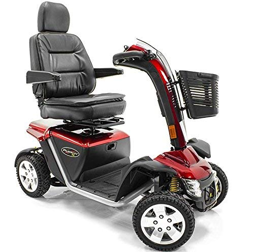 Why Should You Buy Pride Mobility PURSUIT XL PMV SC714 Pride Electric Scooter RED color